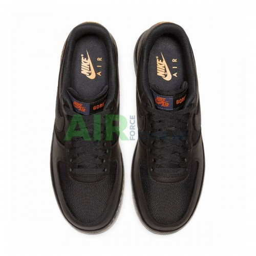 CK2630-001 Air Force 1 Low Gore-Tex Black Light Carbon
