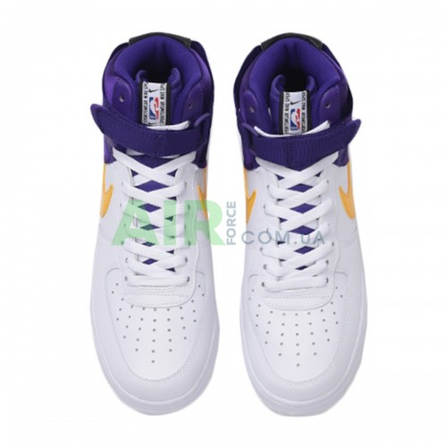 Air Force 1 '07 LV8 High NBA Lakers BQ4591-101
