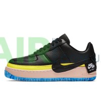 Air Force 1 Jester XX SE Black Sonic Yellow Arctic Orange AT2497-001