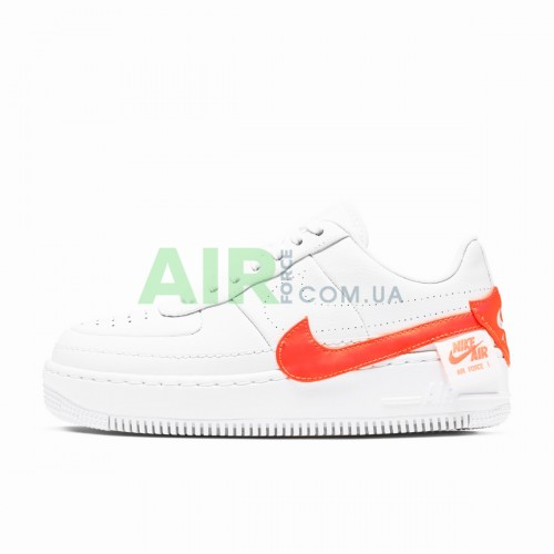 Air Force 1 Jester Trainers White Hyper Crimson CN0139-100