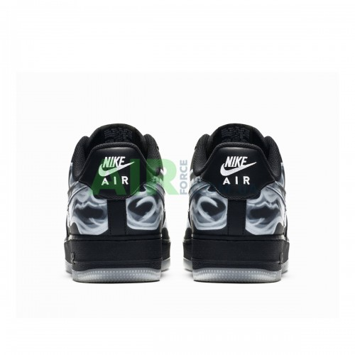 Форсы Скелетон Air Force 1 Low Black Skeleton BQ7541-001