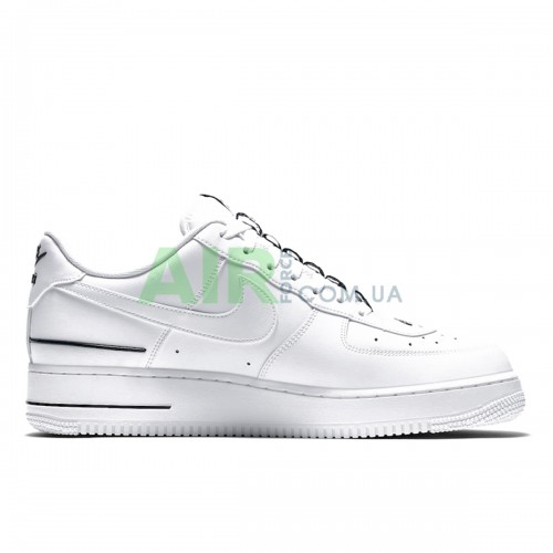 Air Force 1 Low Double Air Low White Black CJ1379-100
