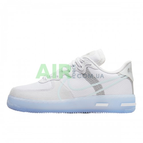 CQ8879-100 Air Force 1 React QS White Ice