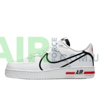 Air Force 1 React White Black Red CD4366-100
