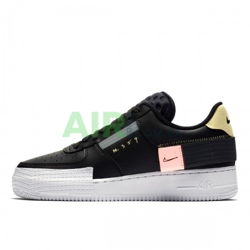 CI0054-001 NIKE Air Force 1 Type 2 Black