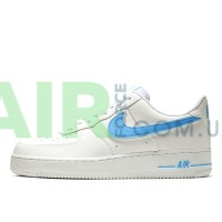 Air Force 1 07 Low White University Blue AO2423-100
