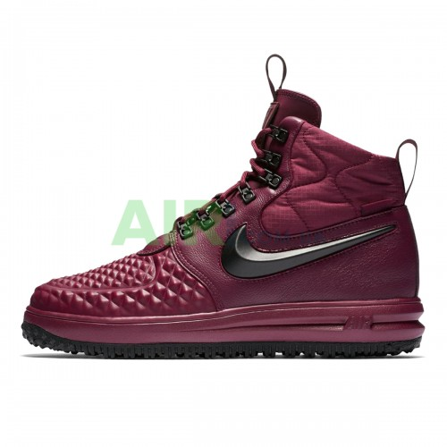 916682-601 Lunar Force 1 Duckboot 17 Bordeaux Black