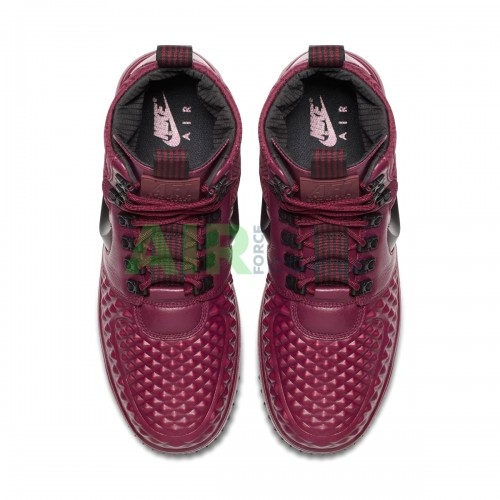 Lunar Force 1 Duckboot 17 Bordeaux Black 916682-601