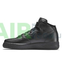 Air Force 1 07 Mid Black 315123-001