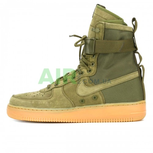 SF Air Force 1 High Medium Olive 859202-339