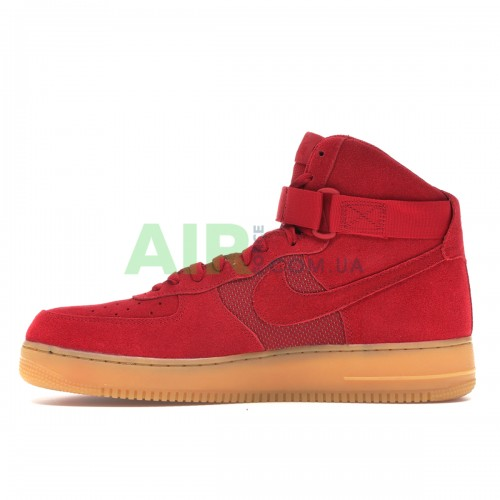 Air Force 1 High Red Gum 806403-601