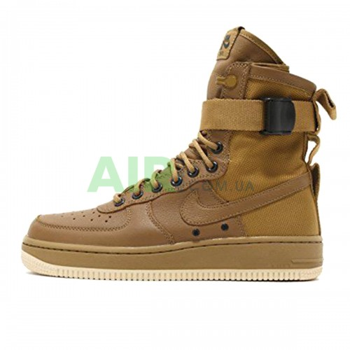 SF Air Force 1 Mid Brown 917753-004