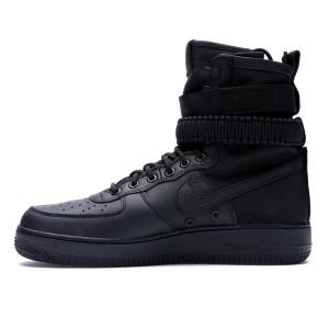 SF Air Force 1 High Triple Black 857872-002