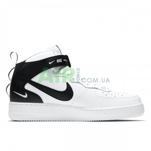 Air Force 1 07 Mid LV8 Utility White Black 804609-103