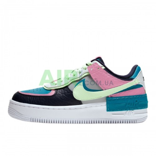 Air Force 1 Shadow Barely Volt Oracle Aqua CK3172-001