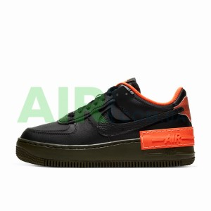 Air Force 1 Shadow Black Hyper Crimson Cargo Khaki CQ3317-001