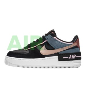 Air Force 1 Shadow Black Light Arctic Pink Claystone Red CU5315-001