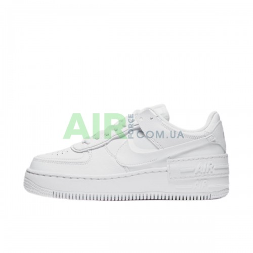CI0919-100 Air Force 1 Shadow Triple White