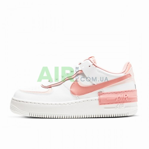 Air Force 1 Shadow White Coral Pink CJ1641-101