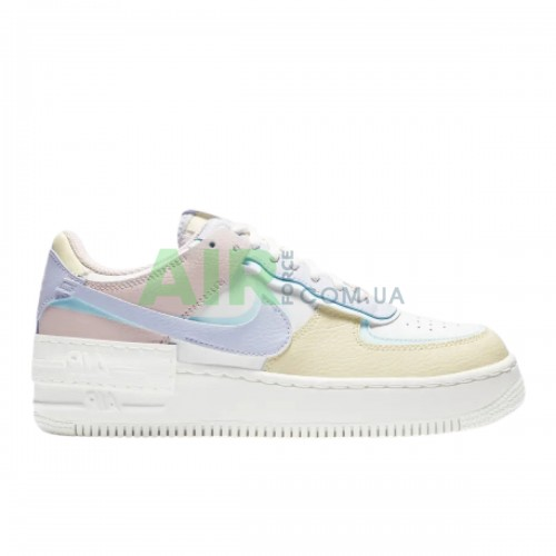 Air Force 1 Shadow White Glacier Blue Ghost CI0919-106