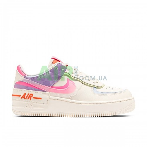 Air Force 1 Shadow White Hydrogen Blue Purple CW2630-141