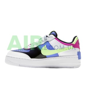 Air Force 1 Shadow White Sapphire Barely Volt CJ1641-100