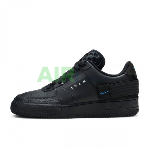 Air Force 1 Type Black Royal AT7859-001