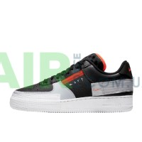 Air Force 1 Type Black Hyper Crimson CQ2344-001