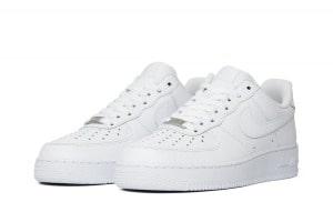 Nike Air Force белые мужские