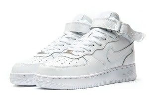Nike Air Force белые женские