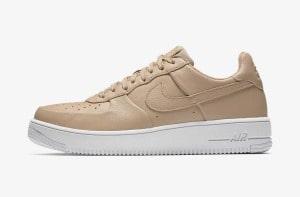 Nike Air Force бежевые женские