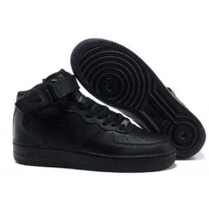 Nike Air Force женские черные